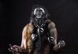 Ancient shaman warrior,paganism, ritual