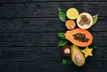 Papaya, Kumquat, Granadilla, M...