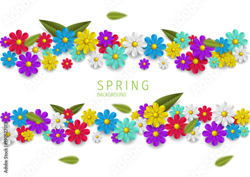 Hello Spring Spring Background Spring Design Background