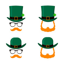 Vector Set Of Saint Patrick's ...