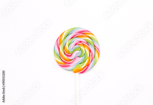 colorful lolli pop Poster Mural XXL