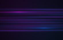 Abstract Blue Laser Streak Lig...
