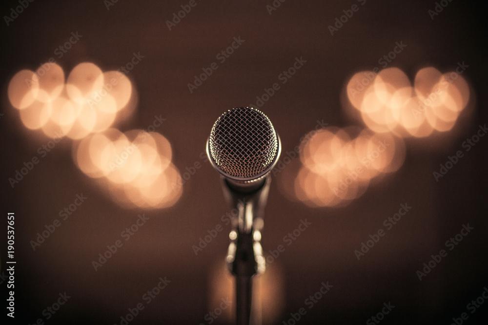 Fototapeta Mikrofon