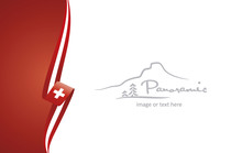 Switzerland Abstract Flag Broc...