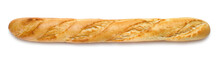 French Baguette Isolated On Wh...