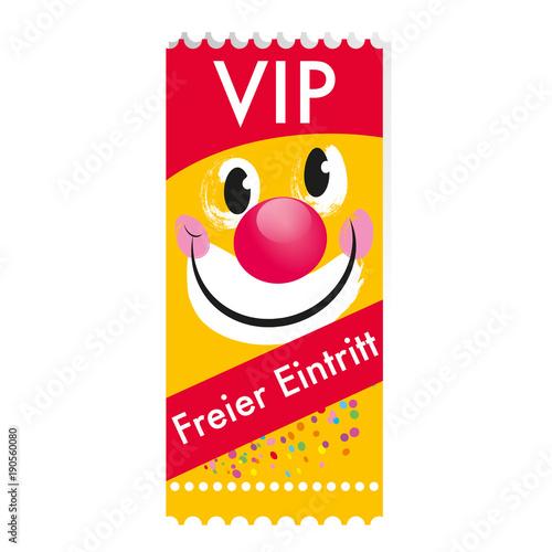 Fotografía  Eintrittskarte - freier Eintritt / VIP