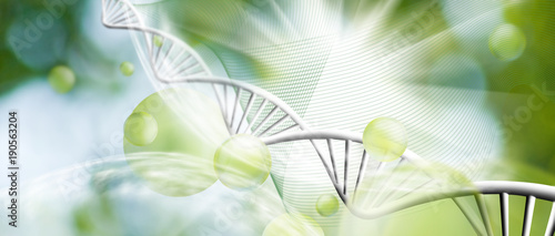 abstract biotechnological background