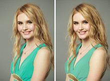 Female Face Before And After R...