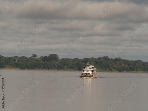 Spoed Foto op Canvas Khaki Amazon River