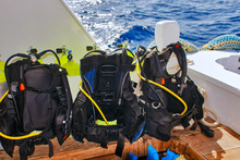 Equipment For Scuba Diving On ...