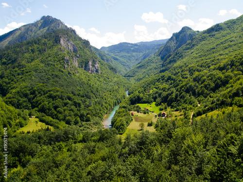 Foto op Canvas Guilin Montenegro mountains view