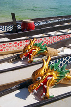 Dragon Boats At Rest