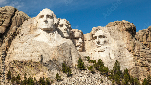 Photo  Mount Rushmore Landscape
