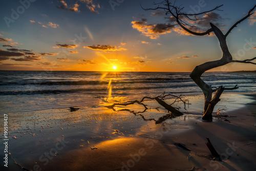 landscape, beach, beautiful, blue, cloud, ocean, outdoor, paradise, relax, resort, scenic, sea, seascape, sky, summer, sunny, tourism, tourist, travel, tropical, vacation, wave sunset