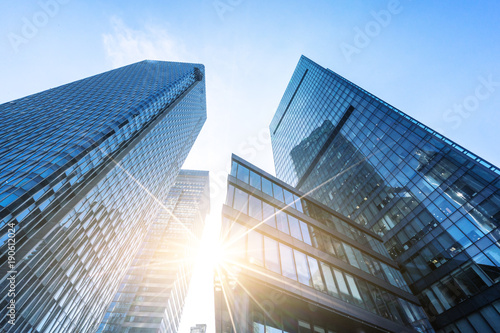 modern office building Canvas Print