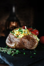 Cheese Baked Potato