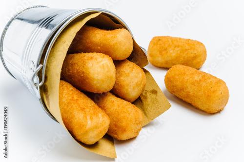 Fotografie, Tablou Crocchette di patate