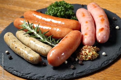 ソーセージ Sausage Canvas Print