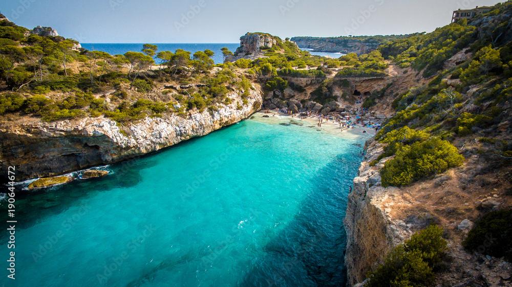 Fototapety, obrazy: Fermentor. The coast of Mallorca, Balearic Islands