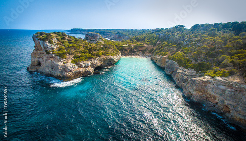 Fermentor. The coast of Mallorca, Balearic Islands