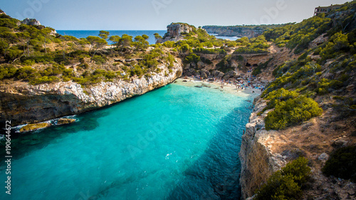 Photo Fermentor. The coast of Mallorca, Balearic Islands
