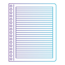 Notebook Paper Lines School Sp...