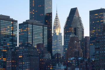 Skyline of midtown Manhattan in New York City