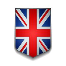 United Kingdom Shield Illustra...