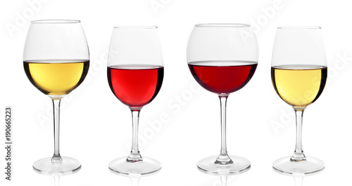 In de dag Bar Wine glasses variation