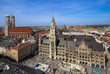 Panorama view of Munich, Germany