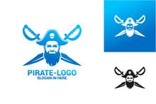 Pirate Logo Template Design Ve...