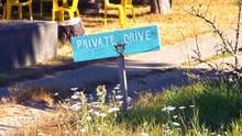 4K Private Drive No Trespassin...