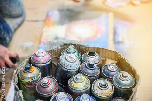 Street Spray Paint Art For Sale