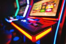 Gambling Machine At Casino Clu...