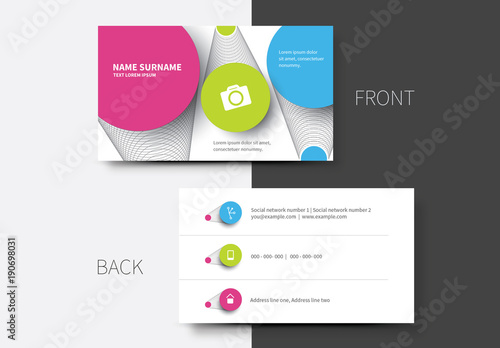 Simple business card layouts 12 buy this stock template and explore simple business card layouts 12 colourmoves