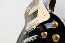 Black Guitar Model Les Paul On...