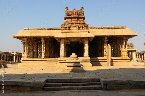 Foto op Plexiglas Xian Sri Krishna temple in Hampi, India.
