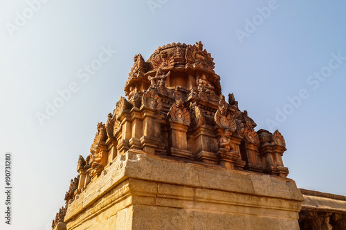 Sri Krishna temple in Hampi, India.