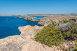 The beautiful island of Comino, Malta