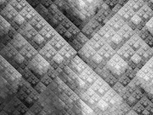 Modified Sierpinski Triangles Technology Fractal Black And White Texture