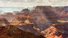 Grand Canyon South Rim As Seen...