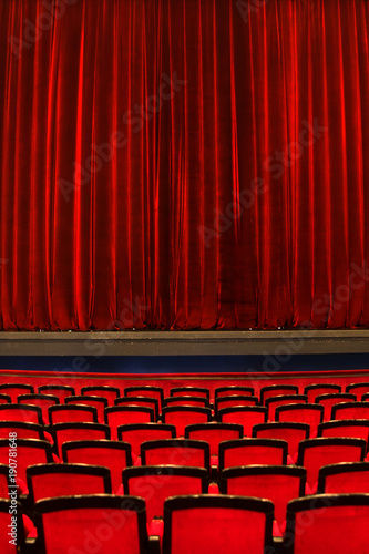 Photo sur Aluminium Opera, Theatre Theatre seats