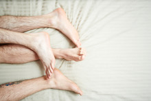 Feet And Hairy Legs Of Homosex...