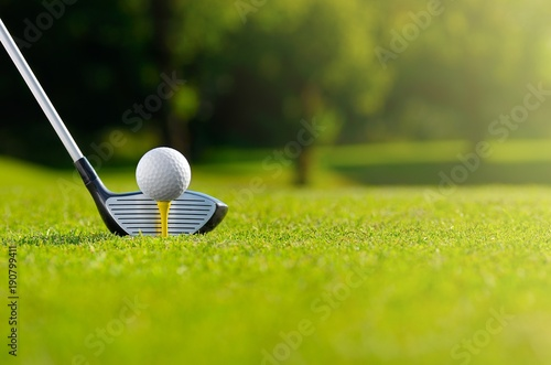 Aluminium Prints Golf Let's golf