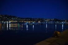 Panorama Di Sanremo Con Porto ...