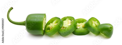 Canvas Prints Hot chili peppers jalapeno slice peppers