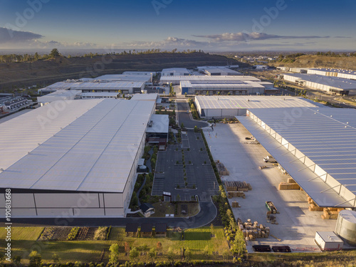 Photo Industrial business park