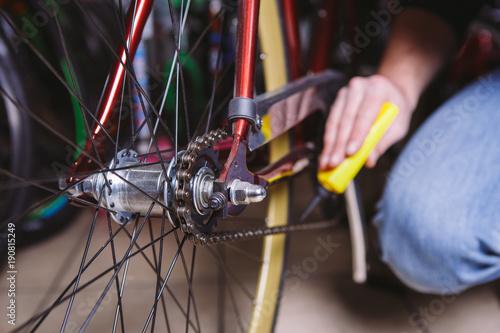 Fotografía  Theme repair bikes