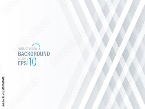 Abstract Modern White Background, Wallpaper ,Banner ,Presentation Background ,Vector , Illustration