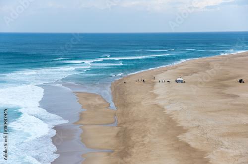 Poster Kust The coast of Atlantic ocean
